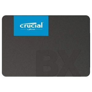 Unidad de Estado de Solido 120GB SATA BX500 marca Crucial