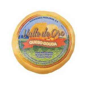 Queso Gouda 400 gr marca Valle de Oro de Pasajinak