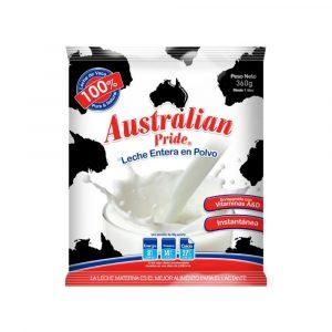 DuoPack Leche Entera 360g marca Australian