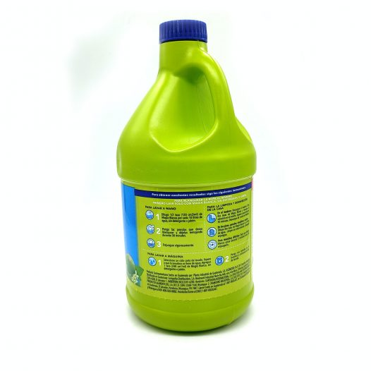 Cloro de 1.85 Litros Aroma Limón marca Magia Blanca