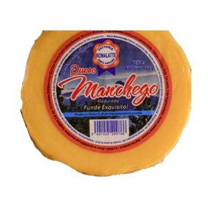 Queso Manchego de 400 gramos marca Romalatte