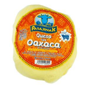 Queso Oaxaca de 1 libra marca Pasajinak