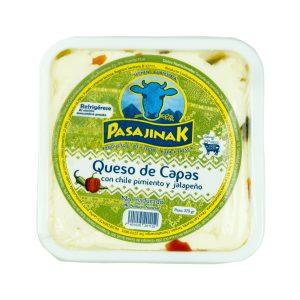 Queso de Capas con Chile de 370 grs marca Pasajinak