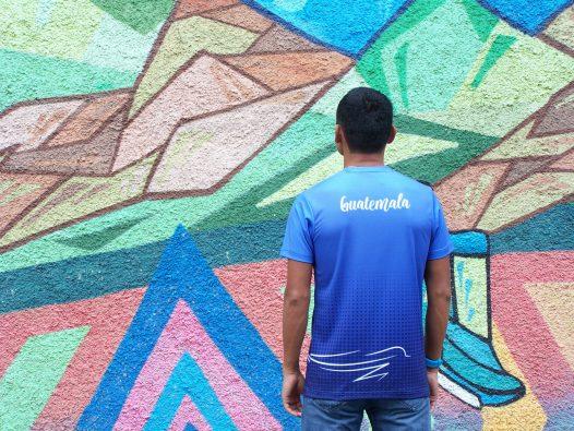 "Camisa Deportiva ""Quetzal"" marca Erick Barrondo"