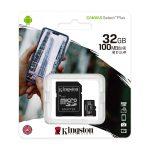 Kingston MicroSD de 32GB Canvas Select Plus Clase 10 para Android