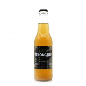 Botella de Vino de Miel de Abeja StrongBee hecha en Guatemala