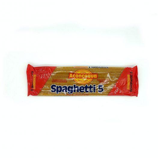 Caja de 6 Paquetes de Spaghetti marca Aconcagua de 300g