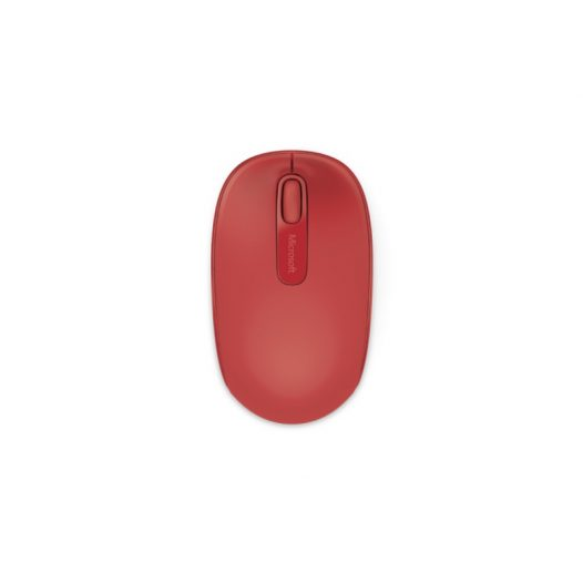 Microsoft Mouse 1850 Wireless Flame Red