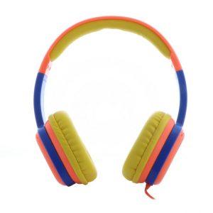 Audífonos Alámbricos Para Niños Plug 3.5mm XTECH Sound Art XTH-350OR