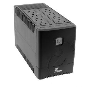 UPS Interactivo 700VA / 375W 8 Tomacorrientes XTECH XTP-751