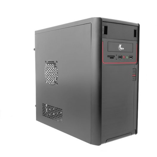 Case Micro ATX con Fuente de 600W XTECH XTQ-100