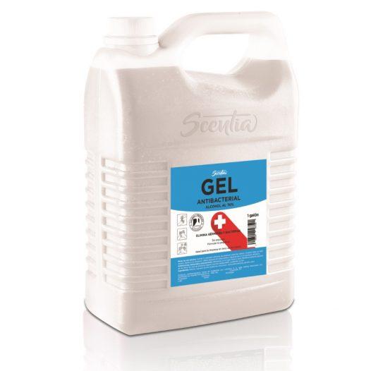 Alcohol en Gel Antibacterial Galón / 70% marca Scentia