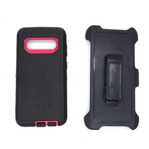 Case Otterbox Defender para S10 plus color negro-fusia