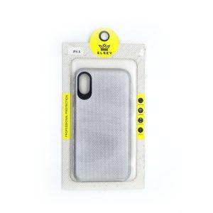 Case El Rey  para Iphone X color Triangle gris