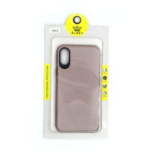 Case El Rey  para Iphone X color Triangle rosado