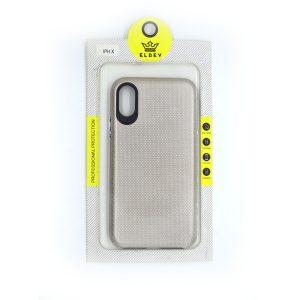 Case El Rey  para Iphone X color Triangle oro