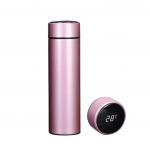 Termo con Pantalla LED y Termómetro color Rosado