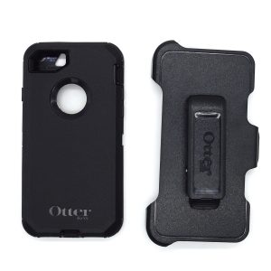 Case Otterbox Defender para Iphone 7/8 color negro-negro