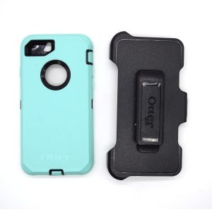 Case Otterbox Defender para Iphone 7/8 color negro-celeste