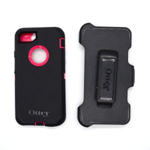 Case Otterbox Defender para Iphone 7/8 color negro-fusia