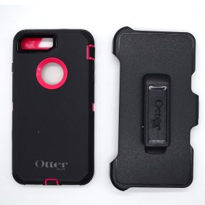 Case Otterbox Defender para Iphone 7/8 plus color negro-fusia