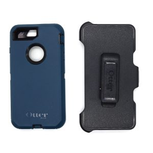 Case Otterbox Defender para Iphone 7/8 plus color negro-azul