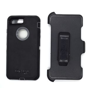 Case Otterbox Defender para Iphone 7/8 plus color negro-gris