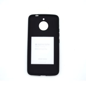 Case Soft feeling para motorola E4 plus color negro