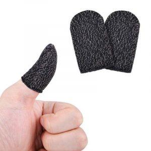 Fundas color Negro para Dedos para Gamers (Bolsa de 2 unidades)