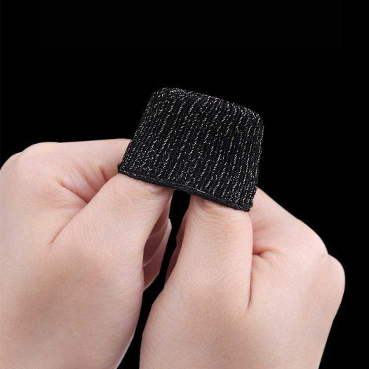 Fundas para Dedos Negro (Bolsa con 2 Unidades)