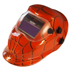 CARETA ELECTRONICA SPIDERMAN ROJO EXTOL PREMIUM