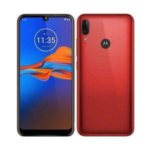 """Celular Moto E6 Plus 3GB RAM 32GB 6.1"""" color Rojo"""