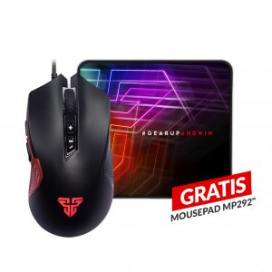 Combo Mouse Gaming X15 Phantom Macro RGB + Mousepad MP292 GRATIS