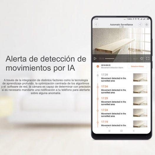 Xiaomi Mi Home Camera 360° Cámara de Videovigilancia 1080p Blanco
