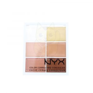 Corrector 6 colores tonalidad pastel marca NYX