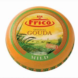 Queso Gouda Original marca Frico presentación Plato (1 Libra)
