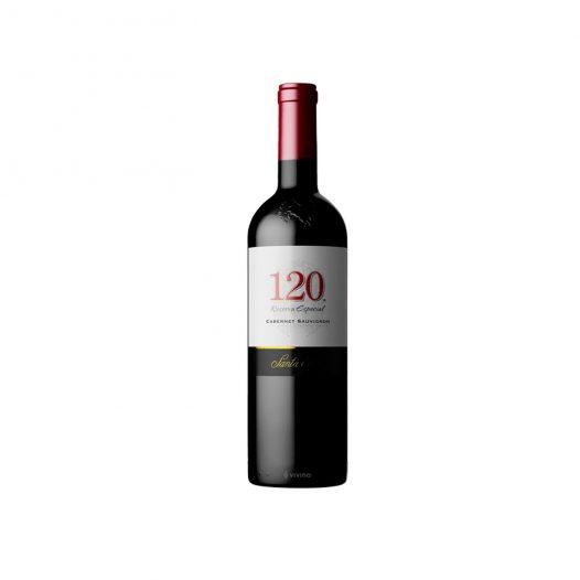 Botella de Vino Tinto 120SANTA RITA- Cabernet sauvignon- Chile - Valle Central