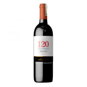 Botella de Vino Tinto 120SANTA RITA-Carmenere- Chile - Valle Central