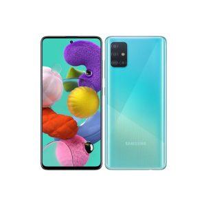 """Celular Samsung Galaxy A51 4GB RAM 128GB 6.5"""" 48Mgpxl Liberado DualSIM color Prisma Azul"""