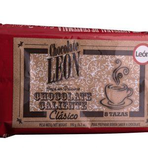 Chocolate León Clásico Tableta 190 gramos