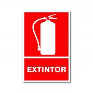 Rotulo Extintor 20 X 30 (cm) material estireno