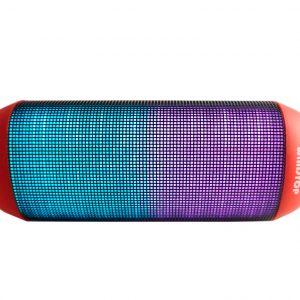 Bocina Grande Bluetooth Con LED