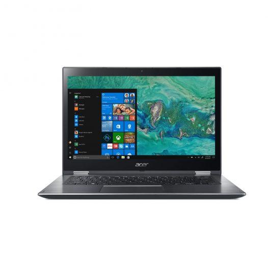"""Laptop Acer i3 8130U 4GB RAM 1TB Win10 Home Pantalla Táctil 14"""" color Gris"""