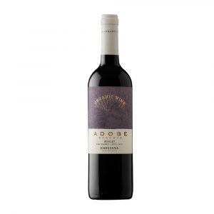 Botella de Vino Tinto Adobe Reserva Carmenere - Emiliana Organics