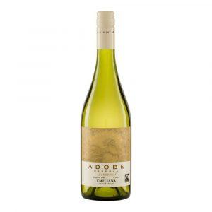 Vino Adobe Reserva Chardonnay marca Emiliana Organics