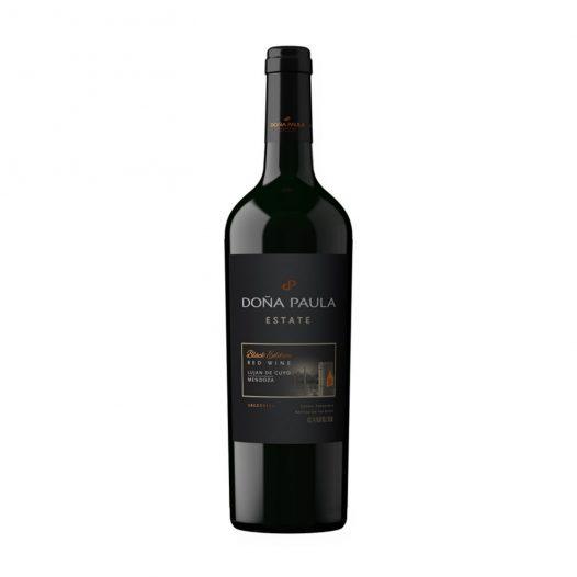 Vino Estate Black Edition marca Doña Paula