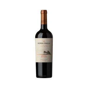 Botella de Vino Tinto Estate - Cabernet Sauvignon - Argentino - Doña Paula