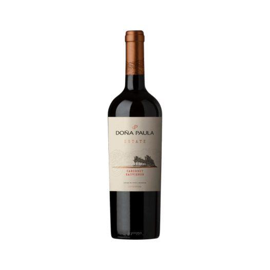 Vino Estate Cabernet Sauvignon marca Doña Paula