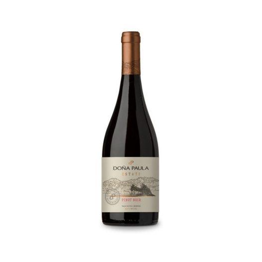Vino Estate Pinot Noir marca Doña Paula