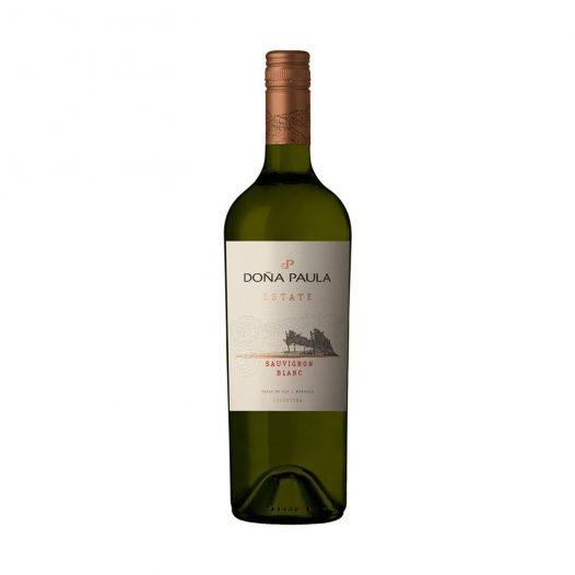 Vino Estate Sauvignon blanc marca Doña Paula